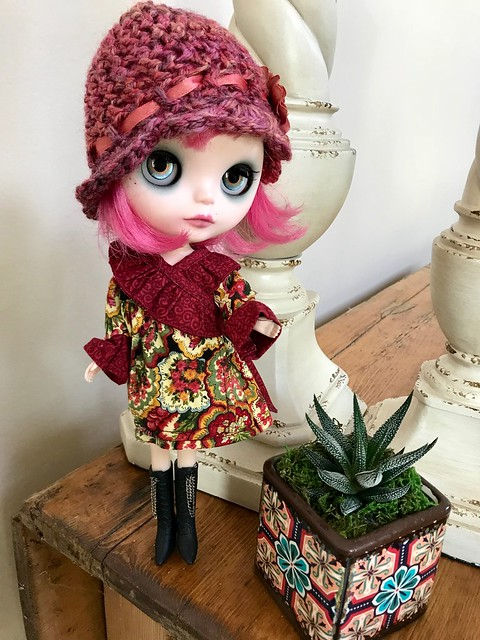 Klute-what she is wearing today. A customized FBL Prima Dolly by Zaloa's Studio