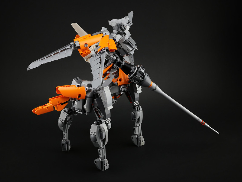 centaur knight mech lego