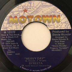 SYREETA:I'M GOIN' LEFT(LABEL SIDE-B)