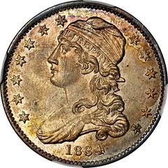 1834 Capped Bust Quarter obverse