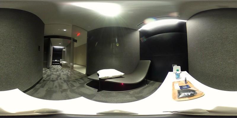 Quiet Room at United Polaris Lounge at EWR.