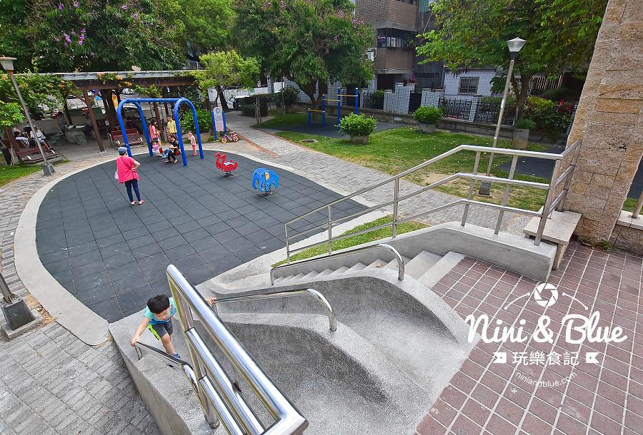 磨石子溜滑梯公園 台中山西公園10