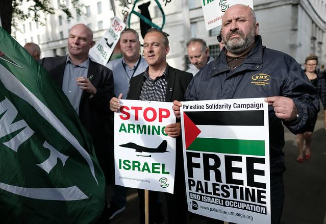 Free Palestine - RMT Union.