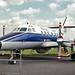 Scottish Aviation Jetstream T3 G-31-667 Farnborough 2-9-86