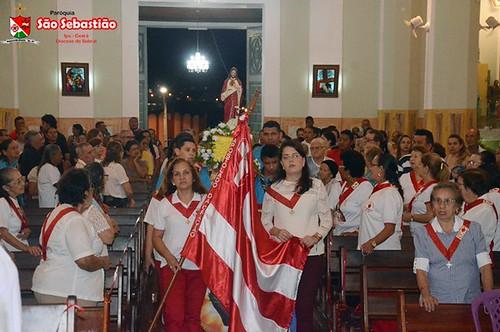 5ª,6ª e 7ª  novenas da VIII Festa do Sagrado Coração de Jesus em Ipu