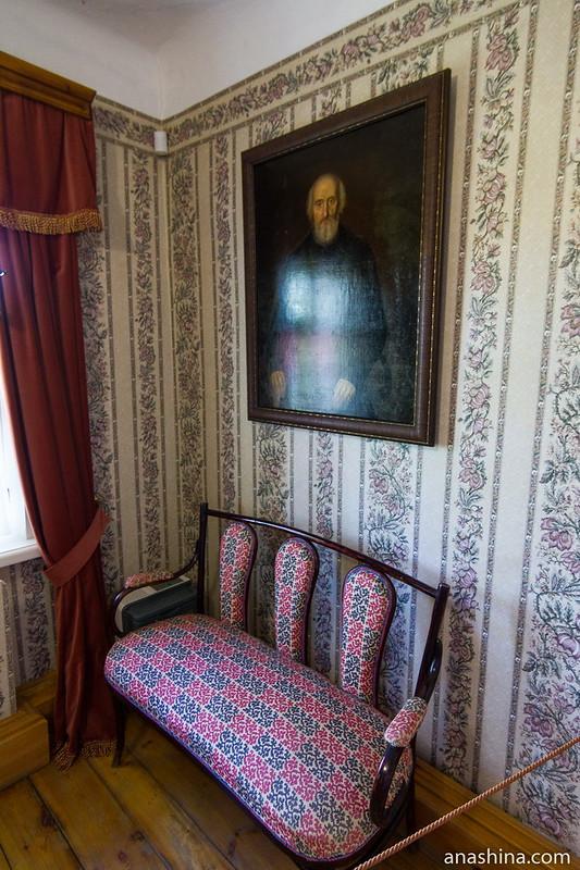 Портрет купца, Музей деревянного зодчества, Суздаль