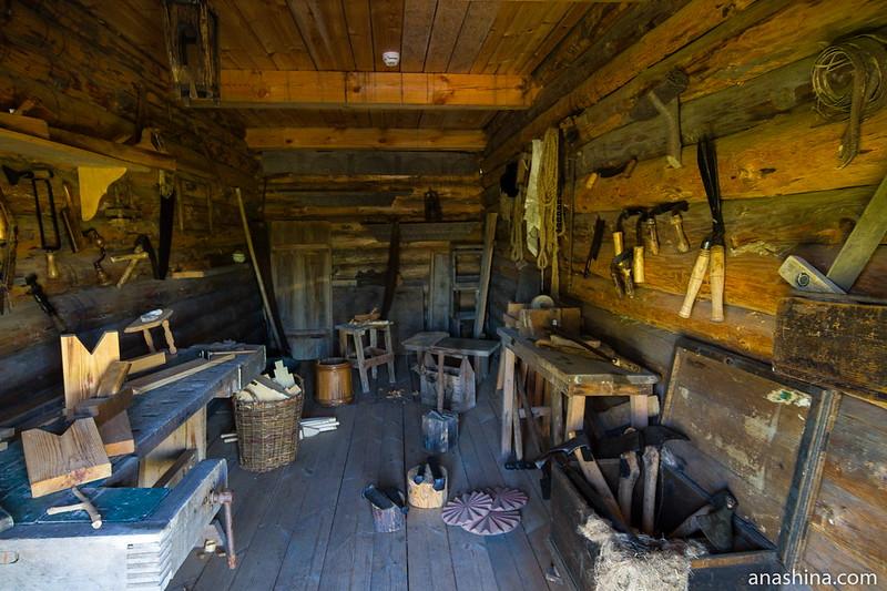 Мастерская сельского плотника, Суздаль