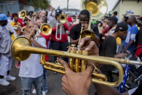 Big 6 Brass Band. Photo by Jamell Tate.