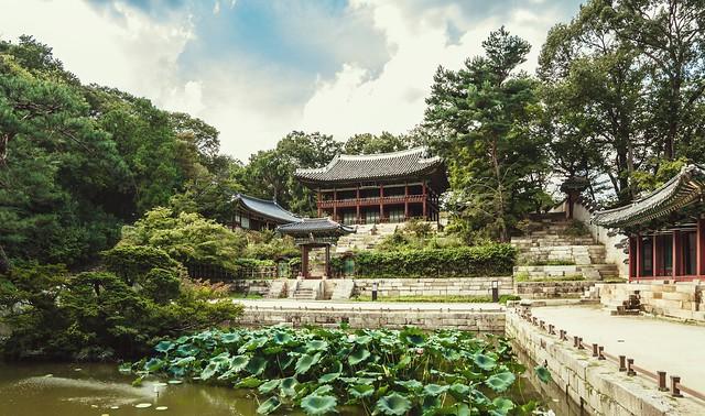 Changdeokgung Palace, South Korea 2016