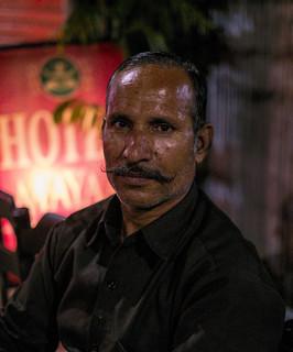 Portrait de rue à Jaipur