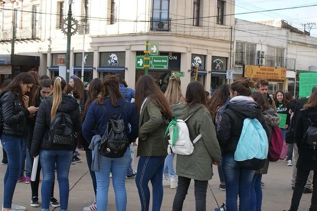 Marcha por la despenalización del aborto