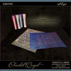 Lilith's Den -  Oriental Carpet