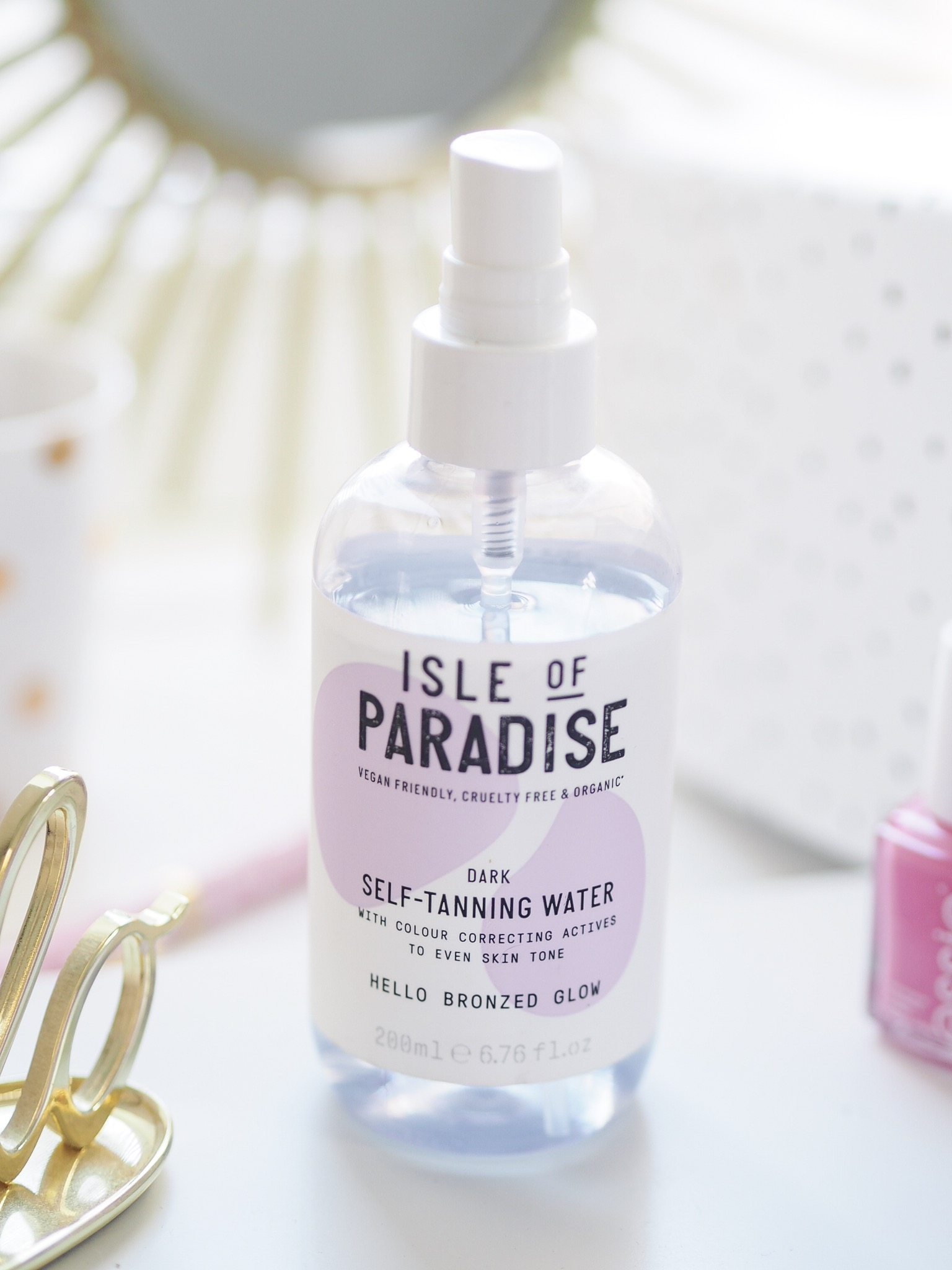 Isle of paradise false tan review