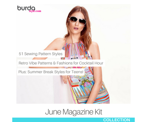 600 June 2015 BurdaStyle Magazine Kit MAIN