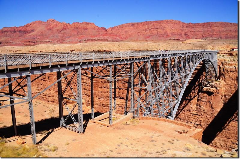 The first Navajo Bridge