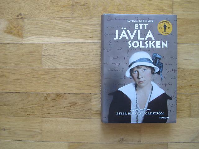 ett jävla solsken: en biografi om ester blenda nordström