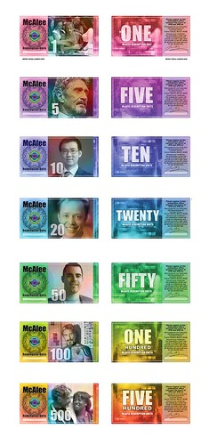 McAfee currency notes