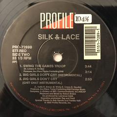 SILK & LACE:BIG GIRLS DON'T CRY(LABEL SIDE-B)