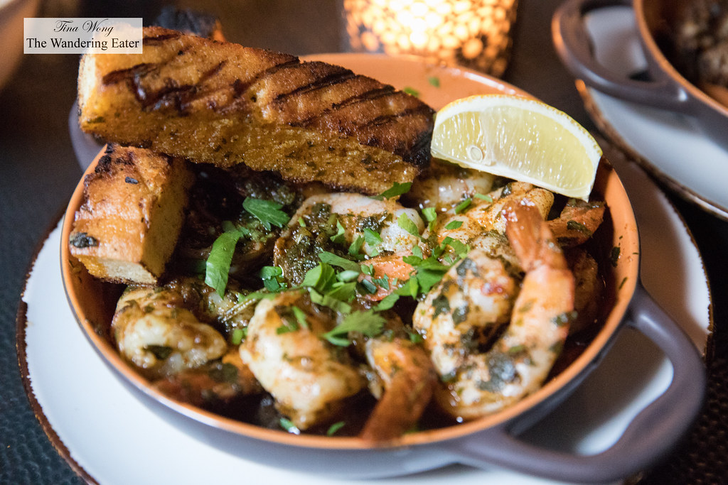 Shrimp Chermoula