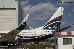 5N-MJI - 28640 - Arik Air - Boeing 737-76N - Luqa Malta 2017 - 170923 - Steven Gray - IMG_0010
