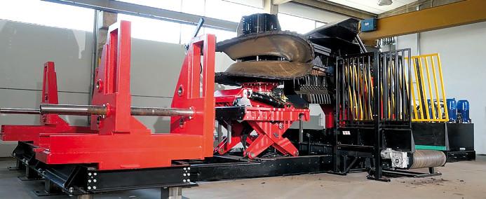 Автоматическая производственная система редуцирования шин MT-REX