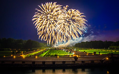Fireworks at the Vaux-le-Vicomte II, Maincy, 20180609