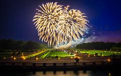 Fireworks at the Vaux-le-Vicomte II, Maincy, 20180609
