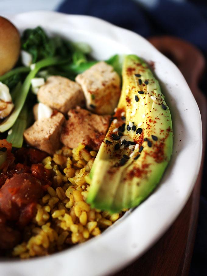 簡易素食羅漢齋 vegan-easy-buddha-bowl (4)
