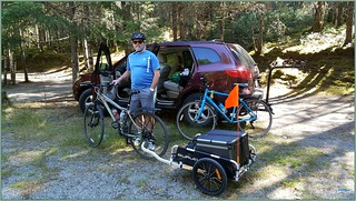 Sooke Campground to Kapoor Station with Burley Trailer
