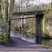 Lister Bridge over the Calder & Hebble Navigation.