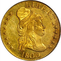 1800 Capped Bust Right Half Eagle obverse