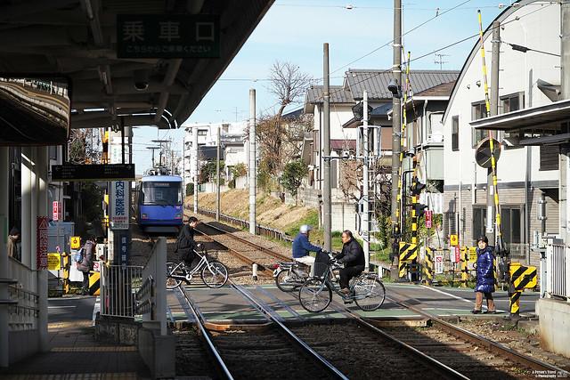 世田谷線 宮之坂站