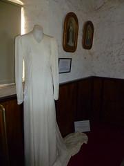 Rae Crawford wedding gown 1942