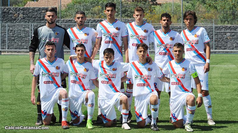 n alto da sinistra: Fabiani, Giuffrida, Pecorino, Pantó, Florio, Distefano In basso da sinistra: Berti, Calì, Di Grazia, D'Arrigo, Papaserio