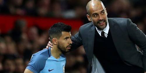 Aguero senang dengan hubungan Guardiola