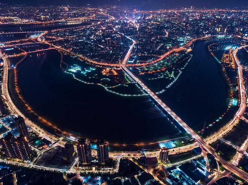 台北市の夜景