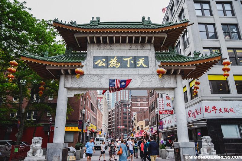 China Town, Boston