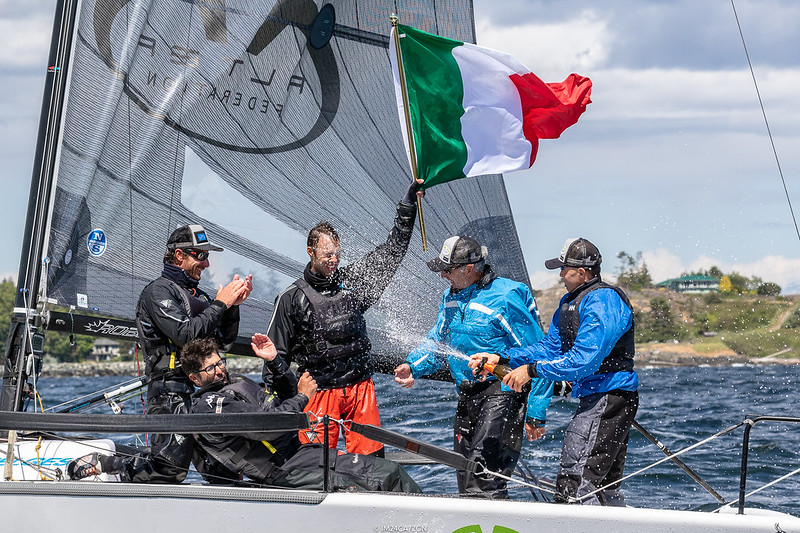 2018 - Victoria, CAN - Melges 24 World Championship - Day 5