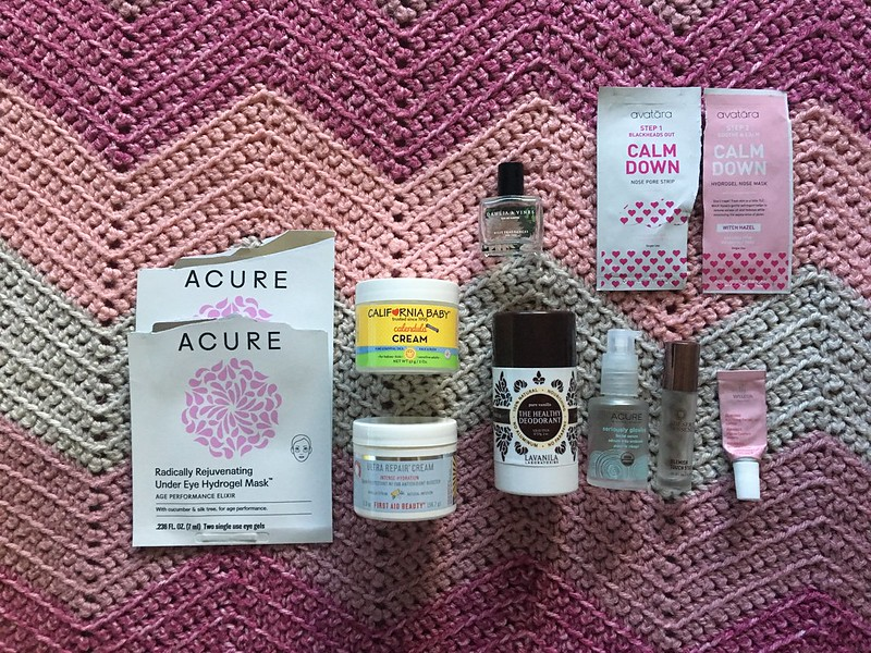 May 2018 empties