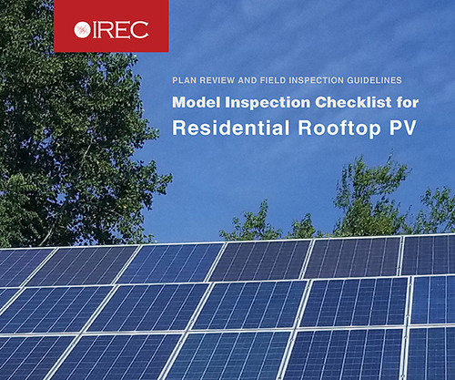 tr Revell PV Inspector Checklist Cover