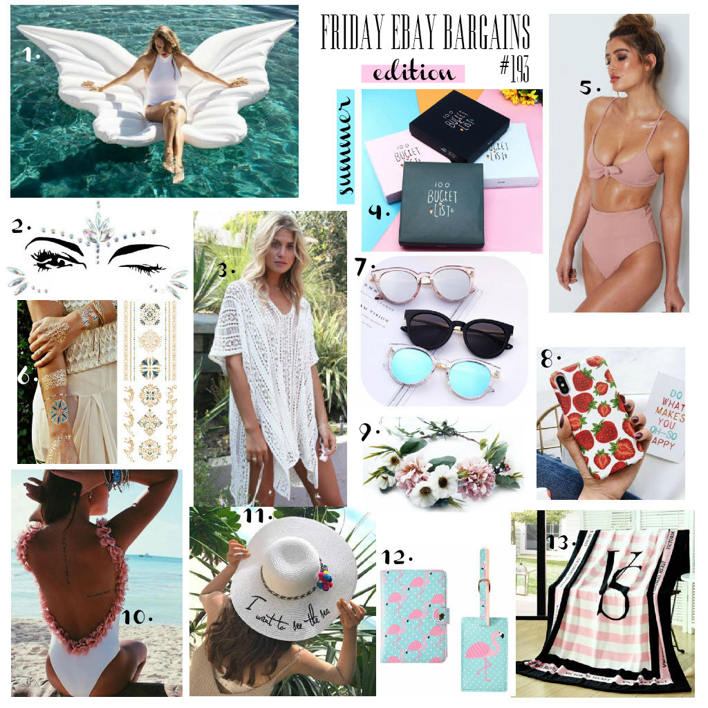 Summer edition Friday eBay bargains