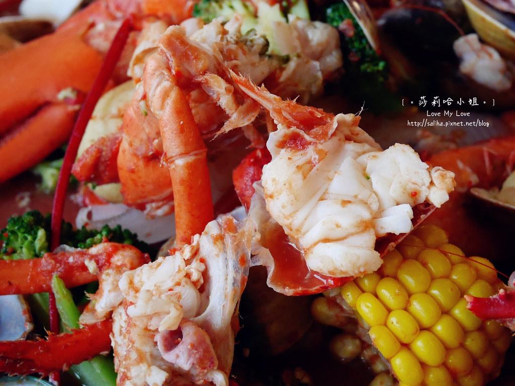 新竹南寮好吃海鮮大餐美食推薦老漁港新海鮮餐廰龍蝦 (1)