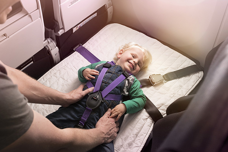 Air New Zealand Economy Skycouch