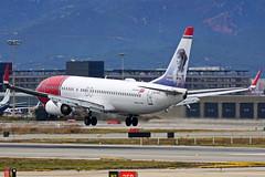 EI-FHT ex LN-DYL 737-8JP Norwegian Barcelona-El Prat 21-02-16