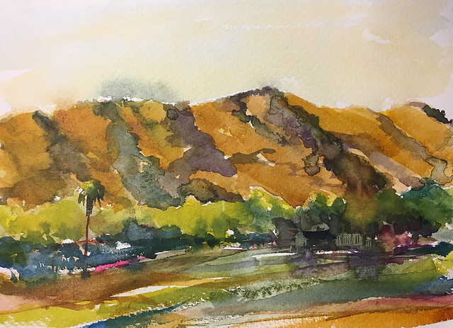 Morgan Hill landscape imagined