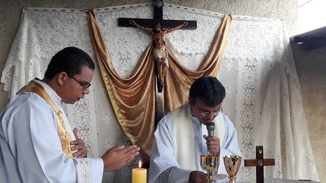 Missa de inauguração da casa Maria Mãe e Mestra