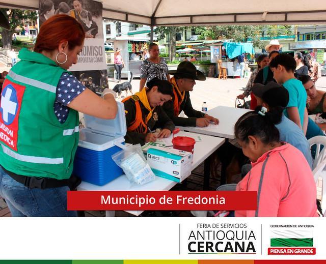 Feria de Servicios Antioquia Cercana - Fredonia