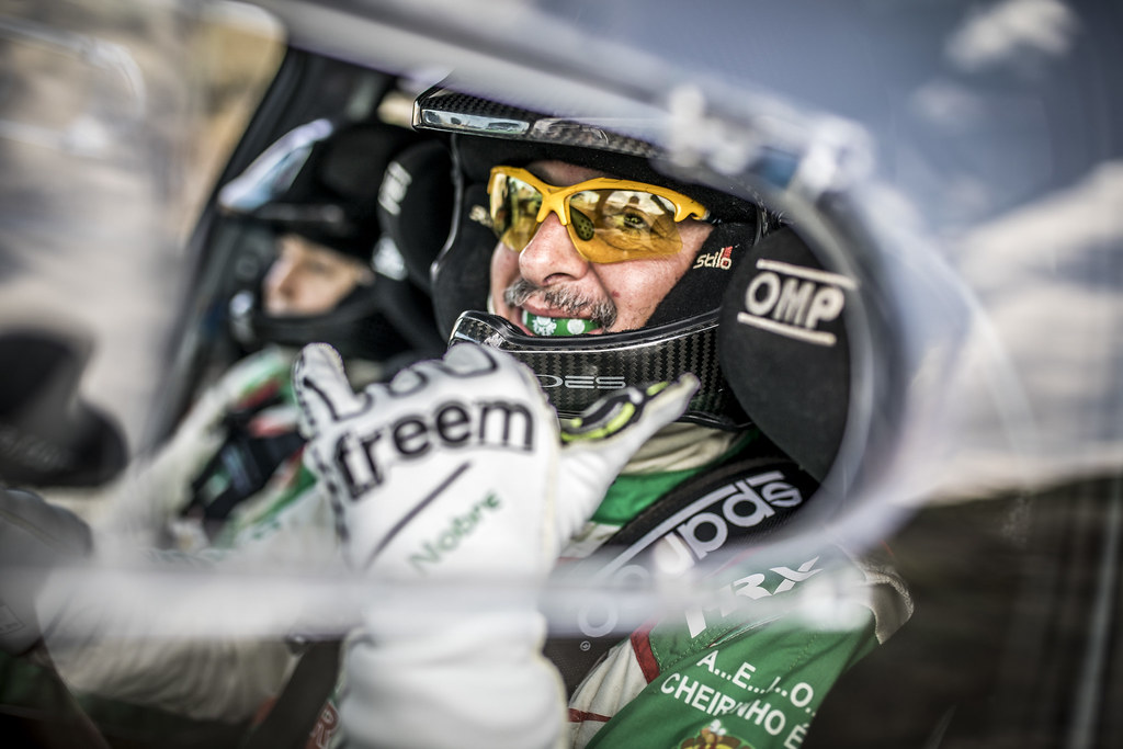 NOBRE PAULO (bra), MORALES Gabriel (bra), Skoda Fabia R5, portrait during the European Rally Championship 2018 - Acropolis Rally Of Grece, June 1 to 3 at Lamia - Photo Gregory Lenormand / DPPI