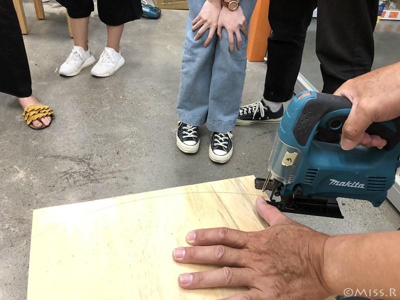 特力屋手創空間 特力屋台中西屯 特力屋DIY 特力屋木工體驗 木工手作教學 親子DIY 特力屋寵物餐桌 寵物餐桌自製52