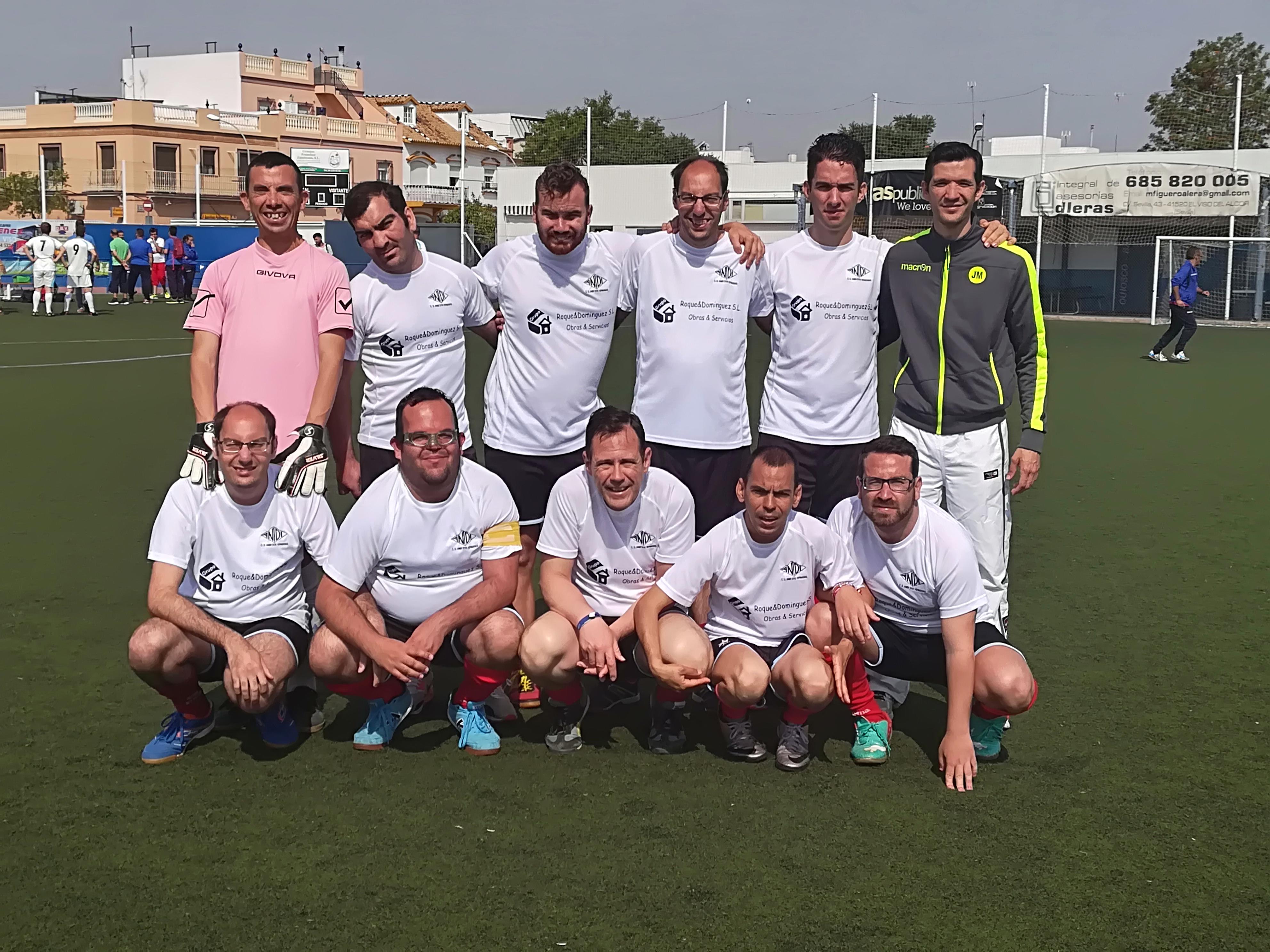 Anidi se proclama campeón de la Liga Aprose de fútbol adaptado